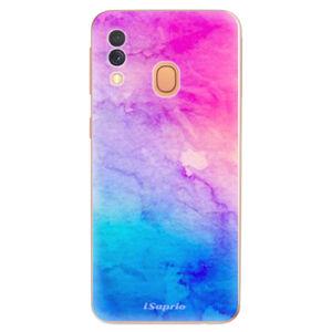 Odolné silikónové puzdro iSaprio - Watercolor Paper 01 - Samsung Galaxy A40
