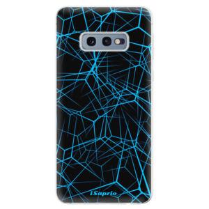Odolné silikonové pouzdro iSaprio - Abstract Outlines 12 - Samsung Galaxy S10e