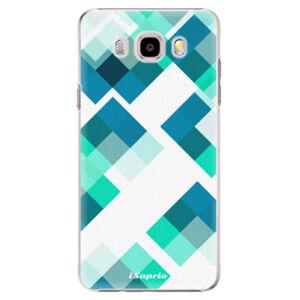 Plastové puzdro iSaprio - Abstract Squares 11 - Samsung Galaxy J5 2016