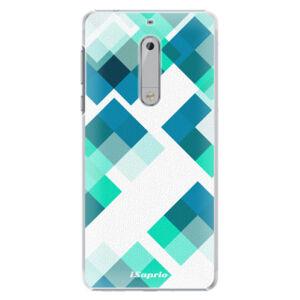Plastové puzdro iSaprio - Abstract Squares 11 - Nokia 5