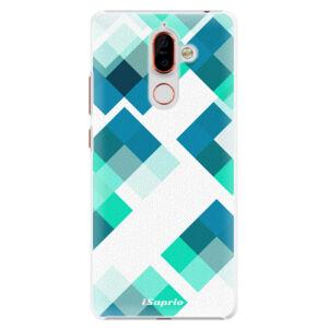 Plastové puzdro iSaprio - Abstract Squares 11 - Nokia 7 Plus