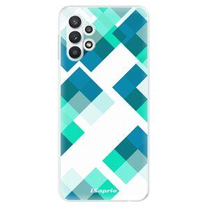 Odolné silikónové puzdro iSaprio - Abstract Squares 11 - Samsung Galaxy A32 5G