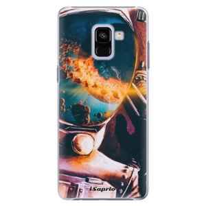 Plastové puzdro iSaprio - Astronaut 01 - Samsung Galaxy A8+
