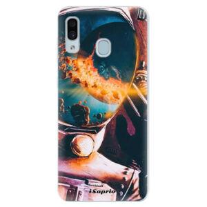 Silikónové puzdro iSaprio - Astronaut 01 - Samsung Galaxy A30