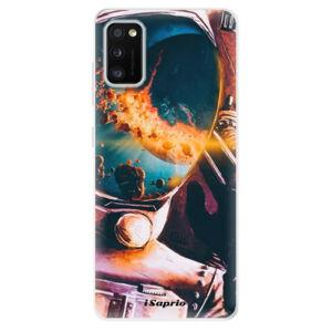 Odolné silikónové puzdro iSaprio - Astronaut 01 - Samsung Galaxy A41