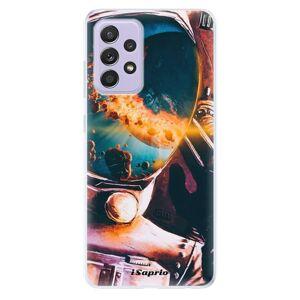 Odolné silikónové puzdro iSaprio - Astronaut 01 - Samsung Galaxy A52/A52 5G
