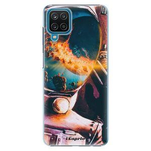Plastové puzdro iSaprio - Astronaut 01 - Samsung Galaxy A12