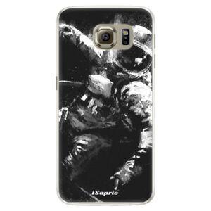 Silikónové puzdro iSaprio - Astronaut 02 - Samsung Galaxy S6 Edge