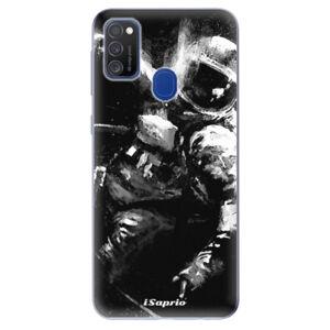 Odolné silikónové puzdro iSaprio - Astronaut 02 - Samsung Galaxy M21