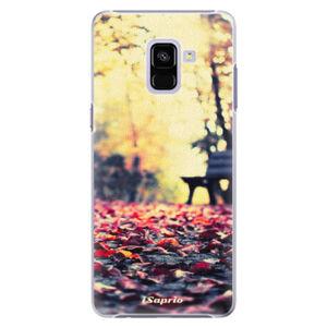 Plastové puzdro iSaprio - Bench 01 - Samsung Galaxy A8+