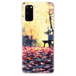 Odolné silikónové puzdro iSaprio - Bench 01 - Samsung Galaxy S20