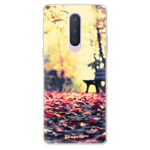 Odolné silikónové puzdro iSaprio - Bench 01 - OnePlus 8