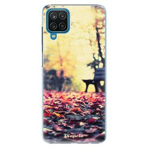 Plastové puzdro iSaprio - Bench 01 - Samsung Galaxy A12