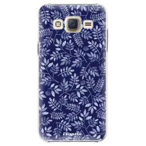 Plastové puzdro iSaprio - Blue Leaves 05 - Samsung Galaxy Core Prime
