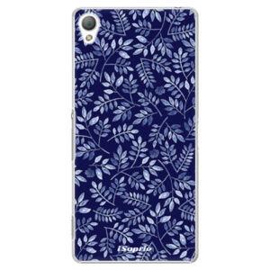 Plastové puzdro iSaprio - Blue Leaves 05 - Sony Xperia Z3