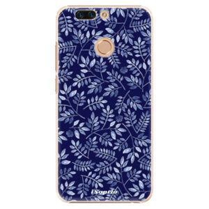 Plastové puzdro iSaprio - Blue Leaves 05 - Huawei Honor 8 Pro