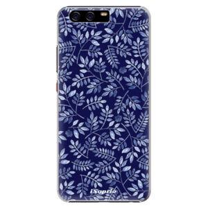 Plastové puzdro iSaprio - Blue Leaves 05 - Huawei P10 Plus