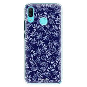 Plastové puzdro iSaprio - Blue Leaves 05 - Huawei Nova 3