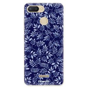 Odolné silikónové puzdro iSaprio - Blue Leaves 05 - Xiaomi Redmi 6