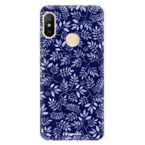 Odolné silikónové puzdro iSaprio - Blue Leaves 05 - Xiaomi Mi A2 Lite