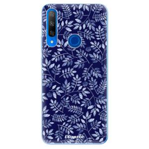 Odolné silikónové puzdro iSaprio - Blue Leaves 05 - Huawei Honor 9X