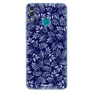 Odolné silikónové puzdro iSaprio - Blue Leaves 05 - Honor 9X Lite