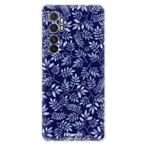 Odolné silikónové puzdro iSaprio - Blue Leaves 05 - Xiaomi Mi Note 10 Lite
