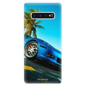 Odolné silikonové pouzdro iSaprio - Car 10 - Samsung Galaxy S10+
