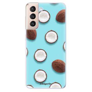 Odolné silikónové puzdro iSaprio - Coconut 01 - Samsung Galaxy S21