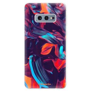 Odolné silikonové pouzdro iSaprio - Color Marble 19 - Samsung Galaxy S10e