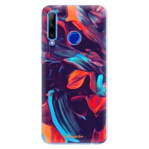 Odolné silikónové puzdro iSaprio - Color Marble 19 - Huawei Honor 20 Lite