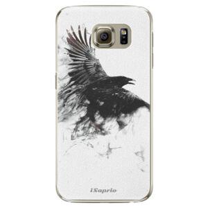 Plastové puzdro iSaprio - Dark Bird 01 - Samsung Galaxy S6