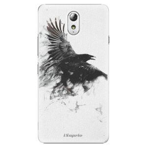 Plastové puzdro iSaprio - Dark Bird 01 - Lenovo P1m