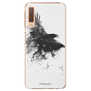 Plastové puzdro iSaprio - Dark Bird 01 - Samsung Galaxy A7 (2018)