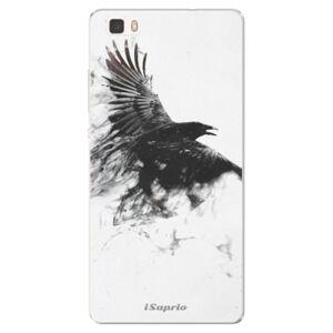 Silikónové puzdro iSaprio - Dark Bird 01 - Huawei Ascend P8 Lite