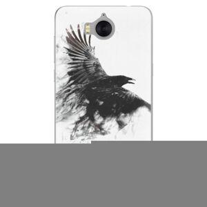 Silikónové puzdro iSaprio - Dark Bird 01 - Huawei Y5 2017 / Y6 2017