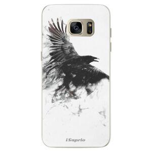 Silikónové puzdro iSaprio - Dark Bird 01 - Samsung Galaxy S7 Edge