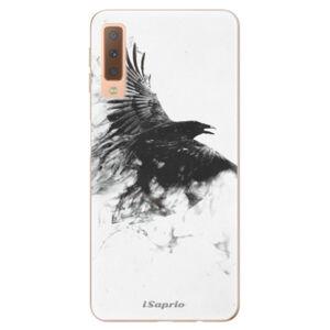 Odolné silikónové puzdro iSaprio - Dark Bird 01 - Samsung Galaxy A7 (2018)