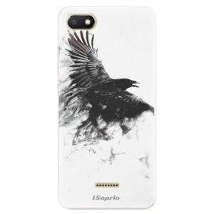 Odolné silikónové puzdro iSaprio - Dark Bird 01 - Xiaomi Redmi 6A
