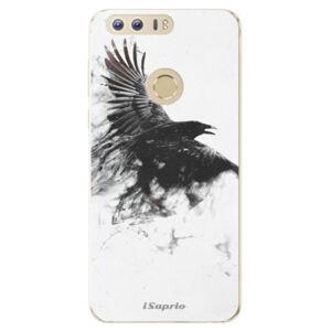 Odolné silikónové puzdro iSaprio - Dark Bird 01 - Huawei Honor 8