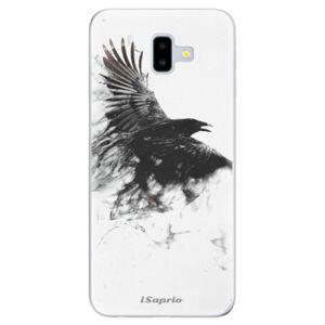 Odolné silikónové puzdro iSaprio - Dark Bird 01 - Samsung Galaxy J6+