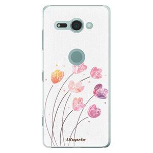Plastové puzdro iSaprio - Flowers 14 - Sony Xperia XZ2 Compact