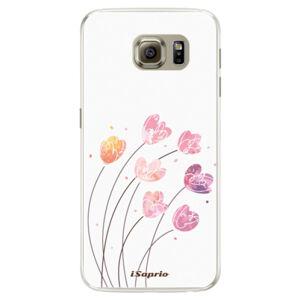 Silikónové puzdro iSaprio - Flowers 14 - Samsung Galaxy S6 Edge