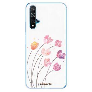 Odolné silikónové puzdro iSaprio - Flowers 14 - Huawei Nova 5T