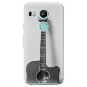 Plastové puzdro iSaprio - Guitar 01 - LG Nexus 5X