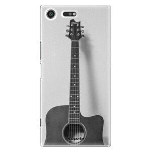 Plastové puzdro iSaprio - Guitar 01 - Sony Xperia XZ Premium