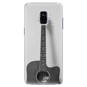 Plastové puzdro iSaprio - Guitar 01 - Samsung Galaxy A8+