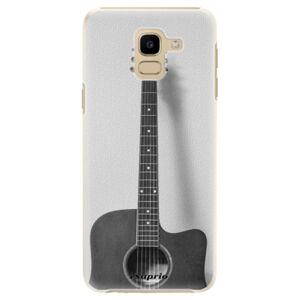 Plastové puzdro iSaprio - Guitar 01 - Samsung Galaxy J6