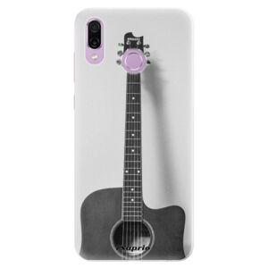 Silikónové puzdro iSaprio - Guitar 01 - Huawei Honor Play