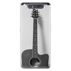 Odolné silikónové puzdro iSaprio - Guitar 01 - Samsung Galaxy A80